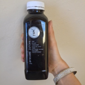 charcoal infused juice